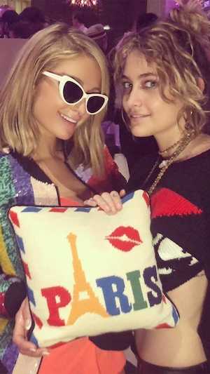 Paris Hilton, Birthday, Paris Jackson