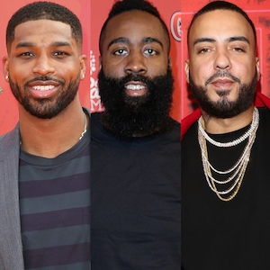 Tristan Thompson, James Harden, French Montana