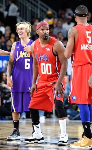 Justin Bieber, Jamie Foxx