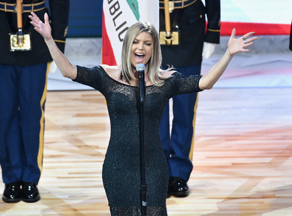 Fergie Addresses National Anthem Backlash: ''I Honestly ... Fergie National Anthem