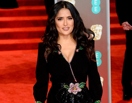 Salma Hayek Is a Brunette Again a Day After Debuting Blond Hairstyle