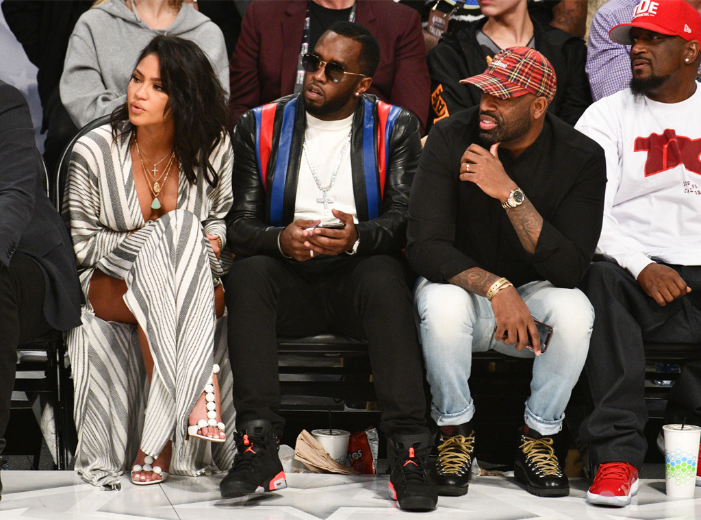 Sean Combs, Cassie, NBA All-Star Game 2018