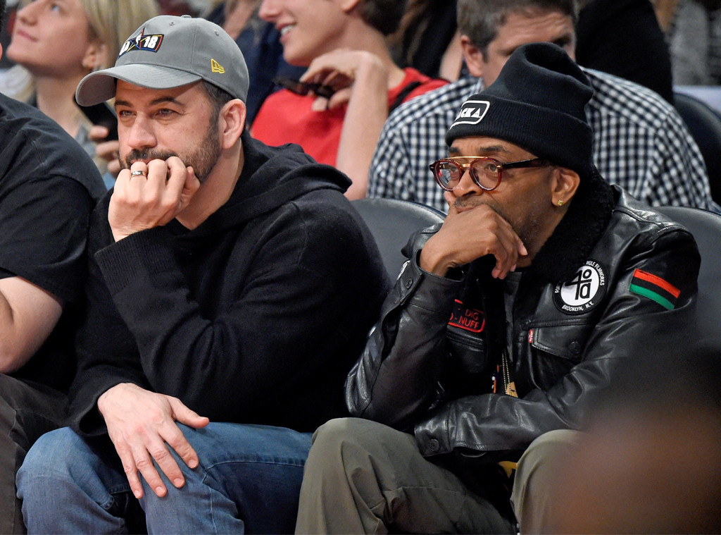 Jimmy Kimmel, Spike Lee, NBA All-Star Game 2018