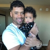 Ciara Shares Adorable Photo of Russell Wilson and Mini-Me Daughter Sienna