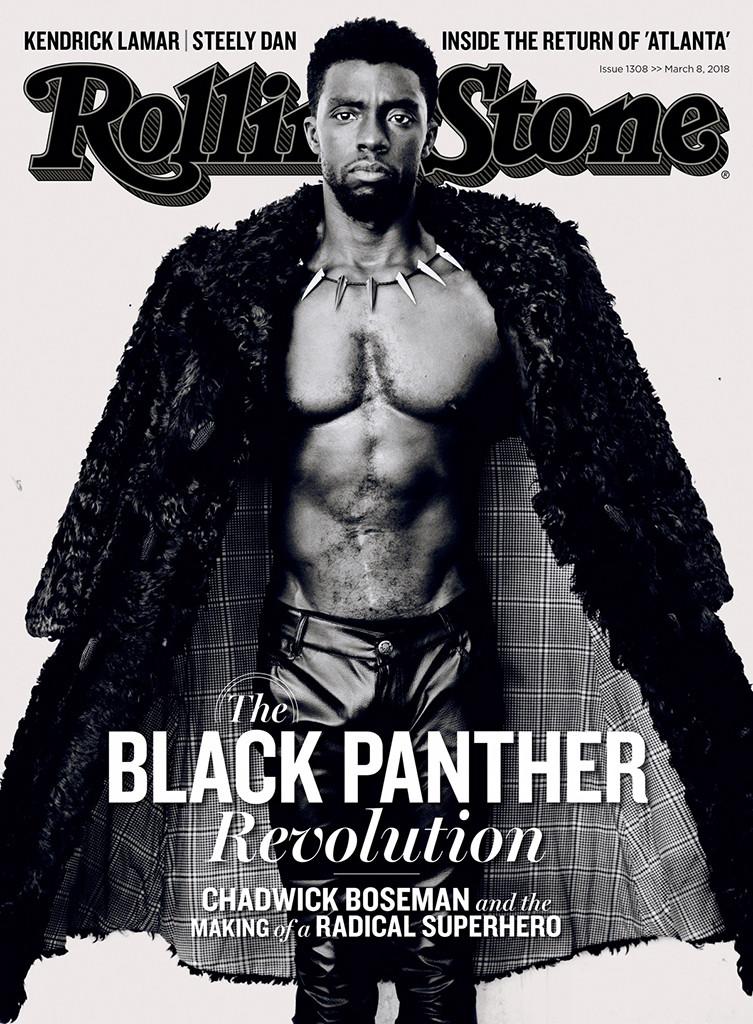 Chadwick Boseman, Rolling Stone