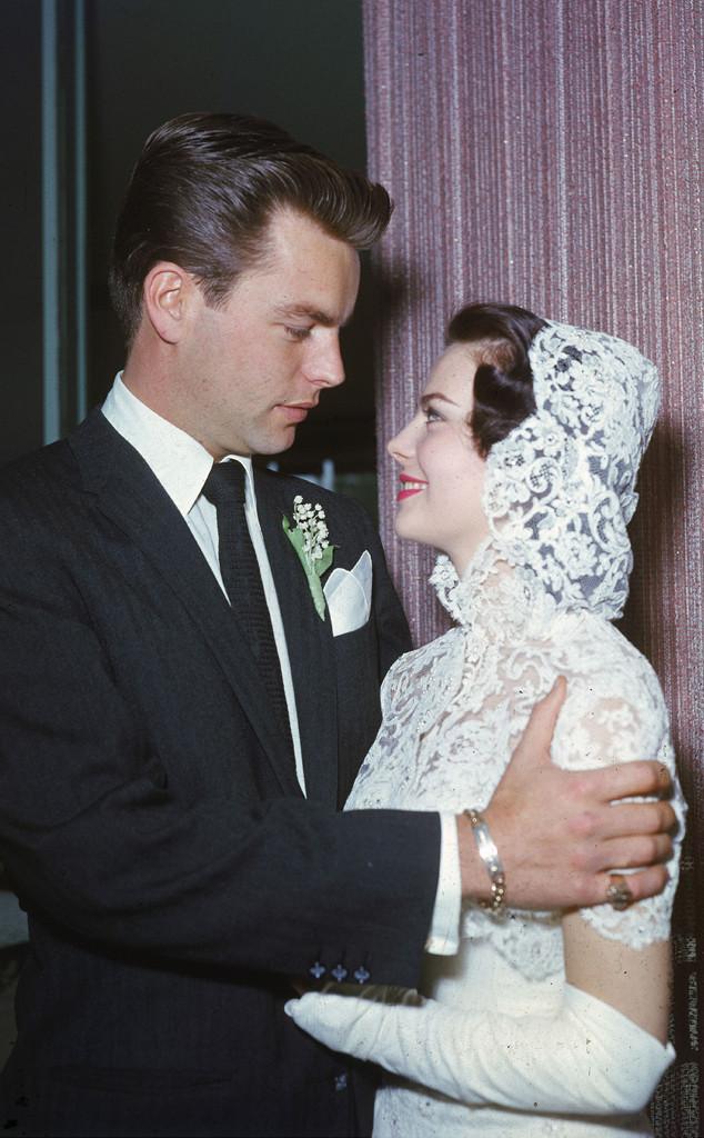 Robert Wagner, Natalie Wood, wedding