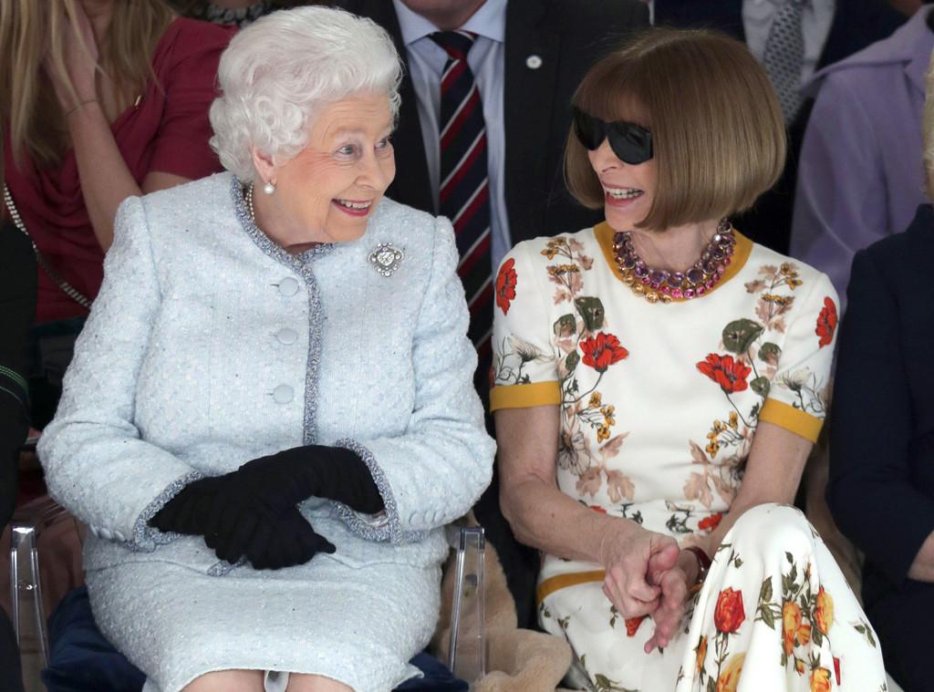 Queen Elizabeth, Anna Wintour