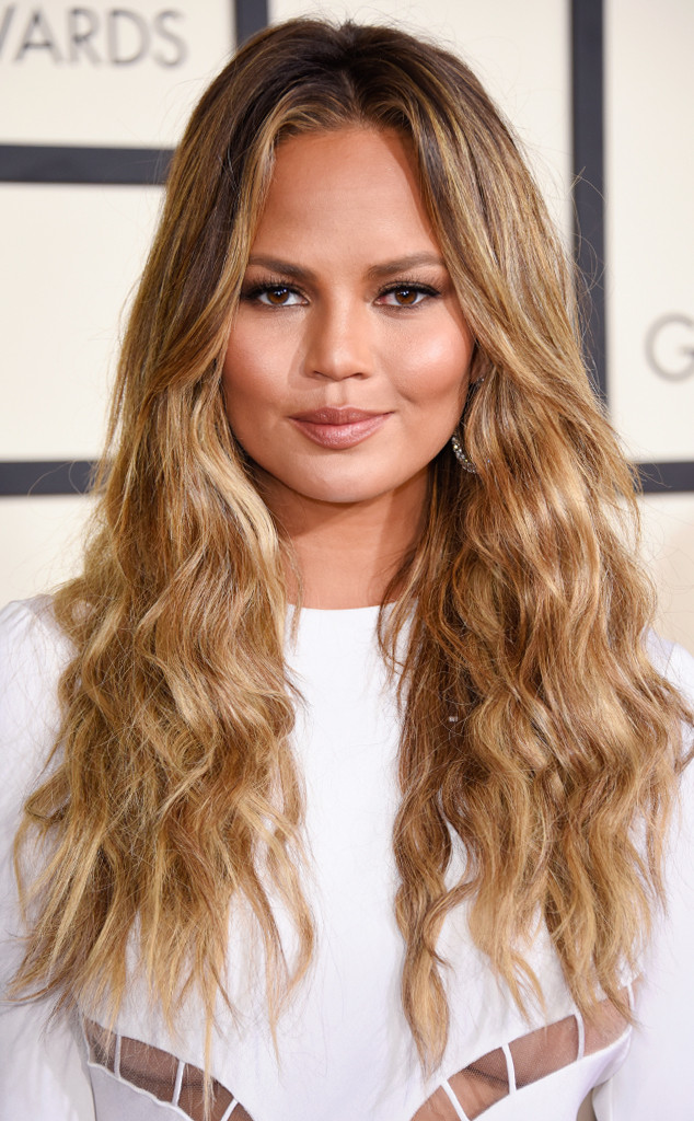 How Chrissy Teigen's Hairstylist Sets the Temperature on His Flat Iron