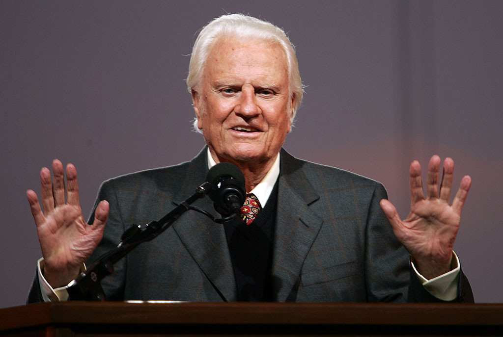 "Reverend Billy Graham, ""America's Pastor,"" Dead At 99"