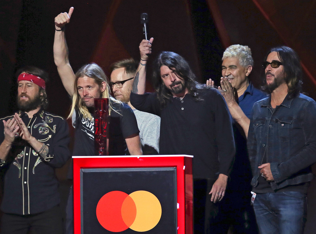 The Foo Fighters, 2018 Brit Awards, winners