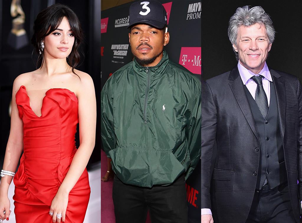 Camila Cabello, Chance the Rapper, Bon Jovi