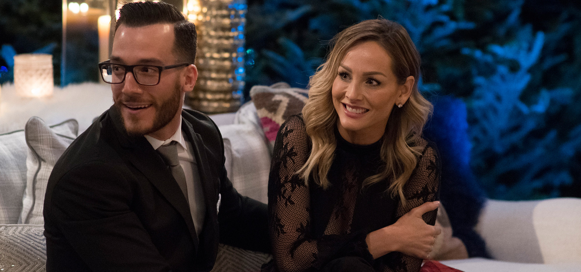 All The Details On Clare Crawley's Engagement Ring From The Bachelor Winter Games' Benoit Beauséjour-Savard