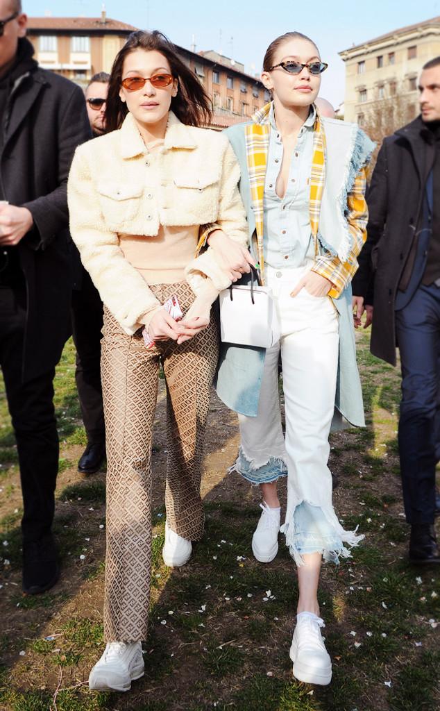 Gigi Hadid's Layered Jeans Are the Next Denim Trend