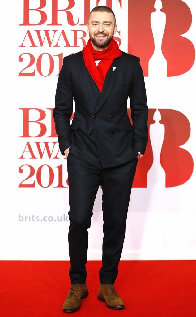 Justin Timberlake, 2018 Brit Awards