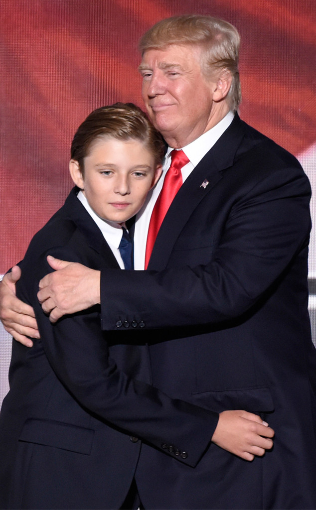 Barron Trump, Donald Trump, Republican National Convention 2016