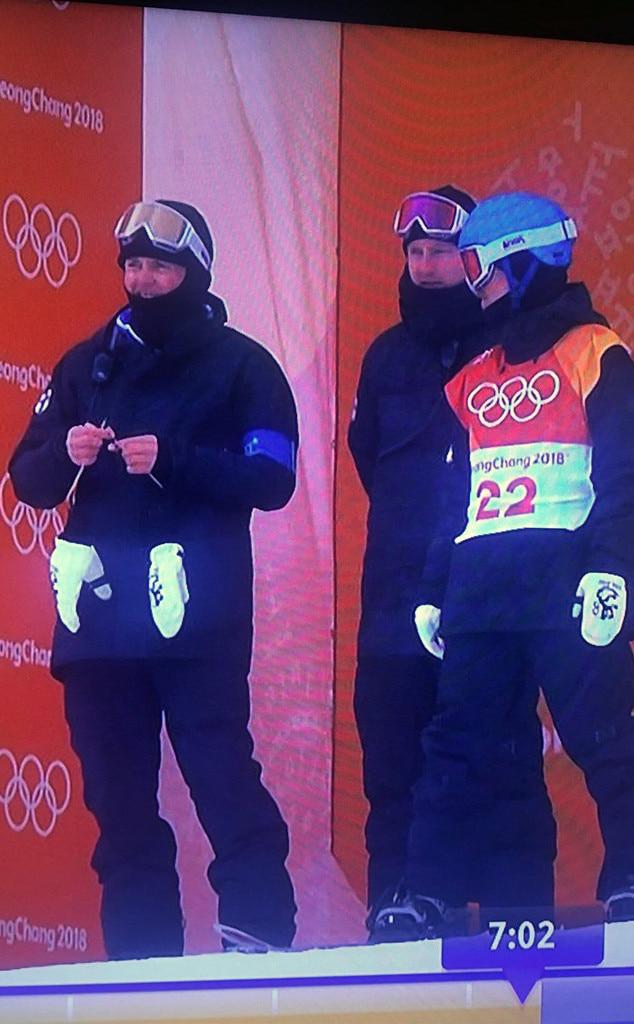 Coach, knitting, 2018 Winter Olympics, Twitter