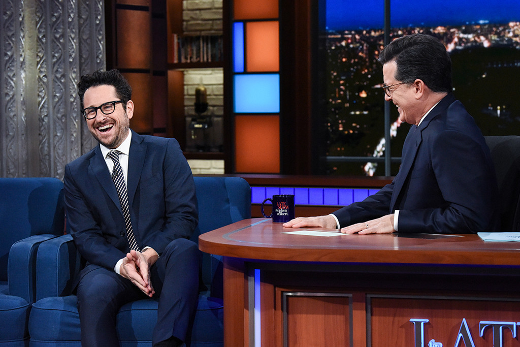J.J. Abrams, The Late Show With Stephen Colbert