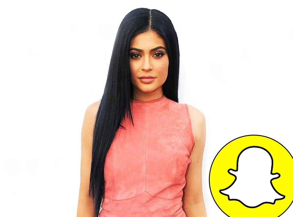 Kylie Jenner, Snapchat