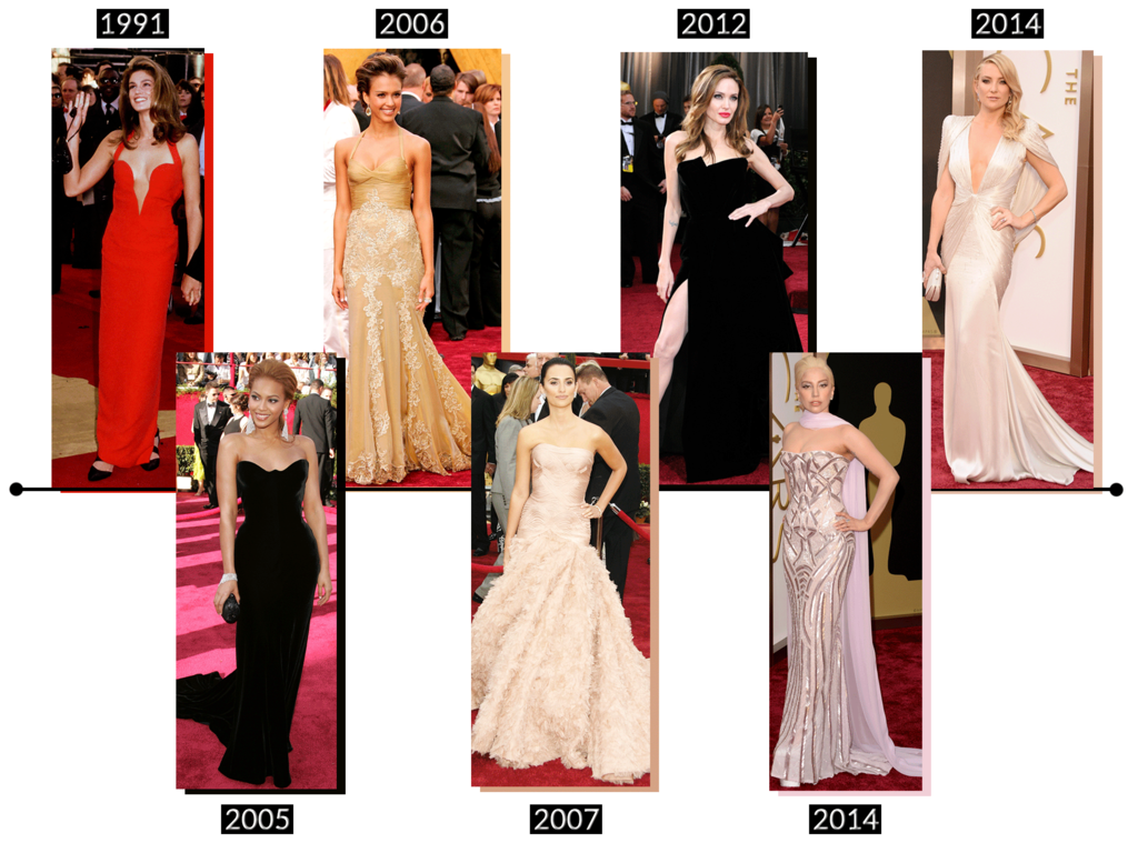 Designers Rule The Oscars Red Carpet: Vote For Versace, Valentino And Christian Dior's Best Dresses Ever!