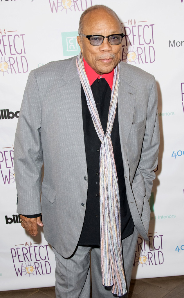 Quincy Jones Apologizes For Recent Statements: ''I've