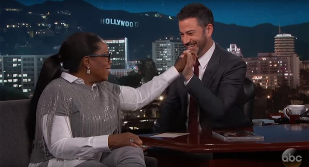 Oprah Winfrey, Jimmy Kimmel