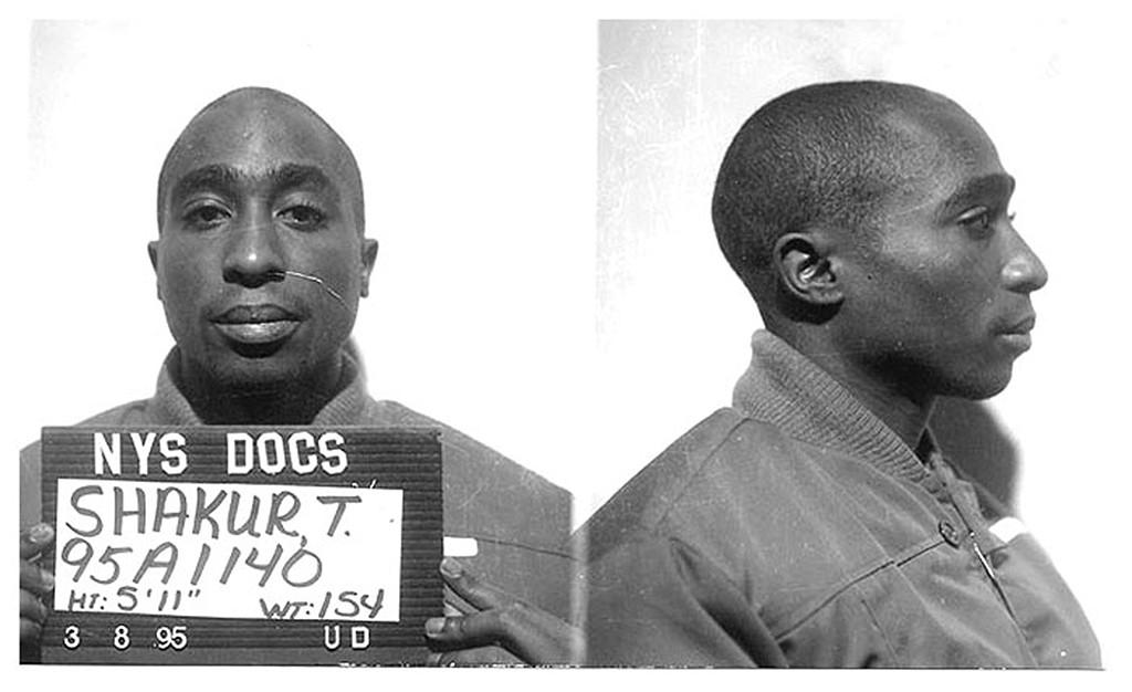 Tupac Shakur, Mug Shots