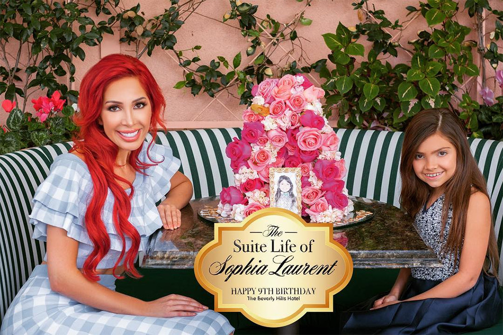 Farrah Abraham's Daughter Sophia Enjoys The Suite Life On 9th Birthday
