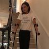 Victoria Beckham, Injury, Foot