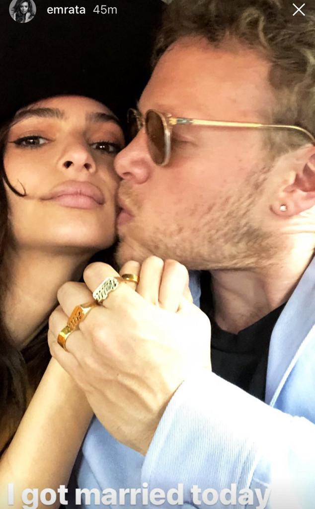 Emily Ratajkowski Marries Sebastian Bear-McClard In Secret Ceremony