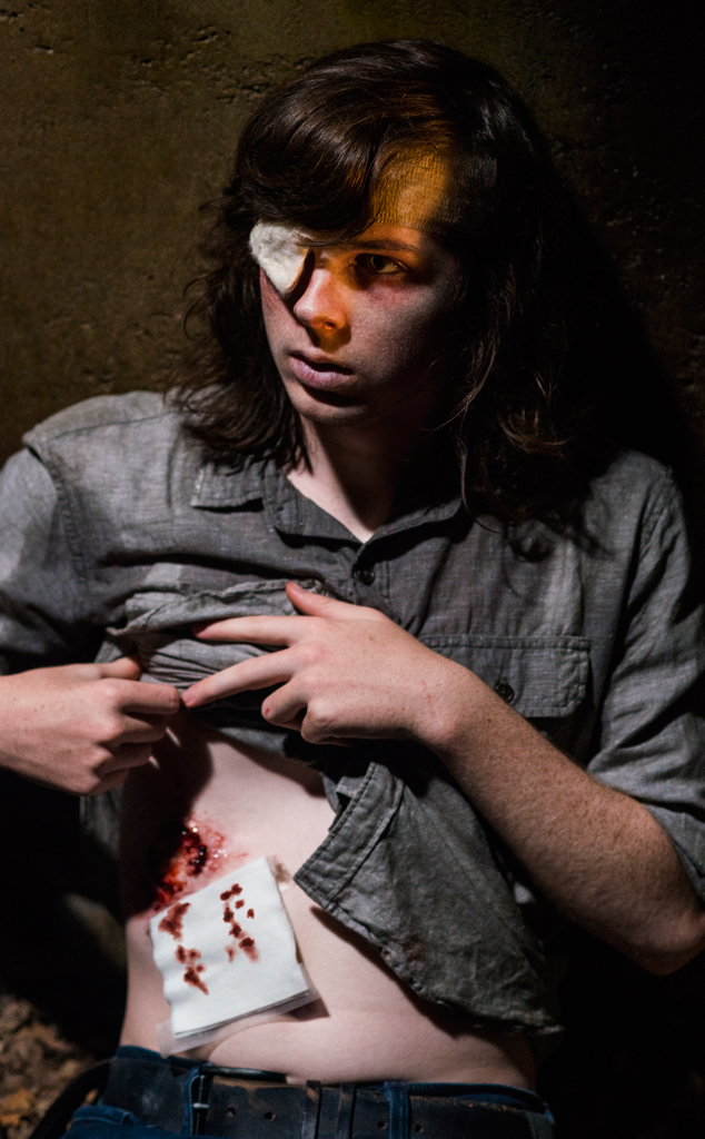 Chandler Riggs, The Walking Dead