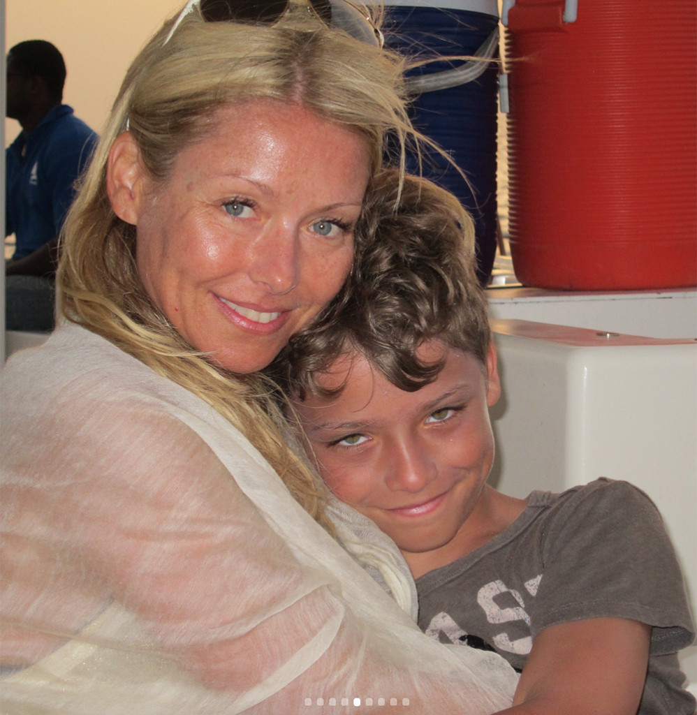 Kelly Ripa and Mark Consuelos Post Adorable Tributes to Son on His 15th Birthday