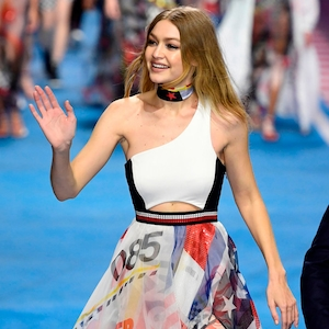 Gigi Hadid, Tommy Hilfiger, Milan Fashion Week 2018