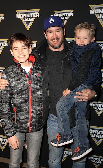 Chris Pratt and Son Jack Have a Fun Boys' Night at 2018 ...