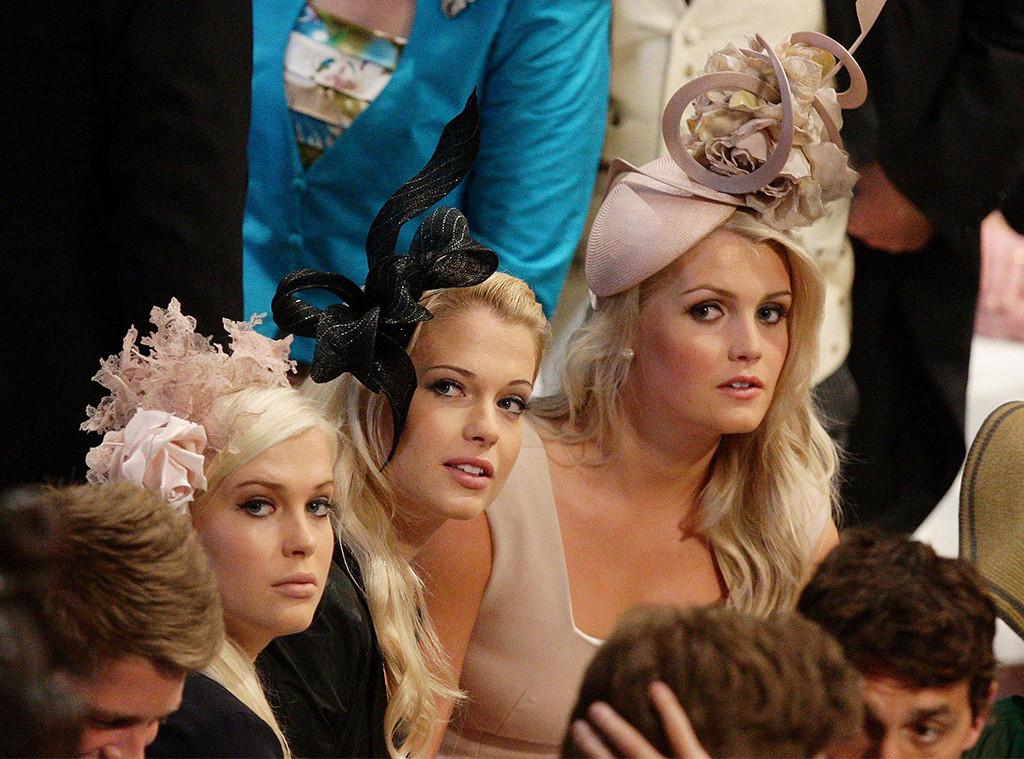 Lady Kitty Spencer, Wedding of Prince William, Kate Middleton