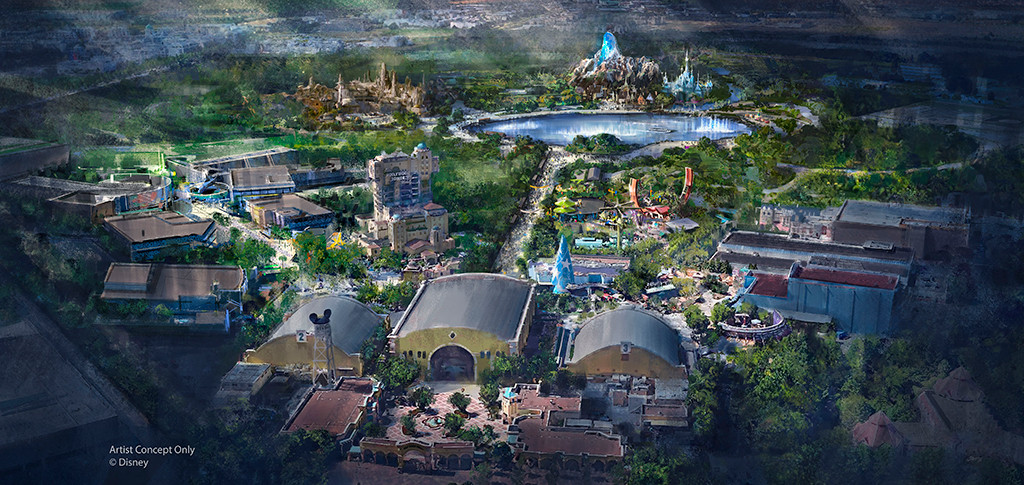 Disneyland Paris, Rendering