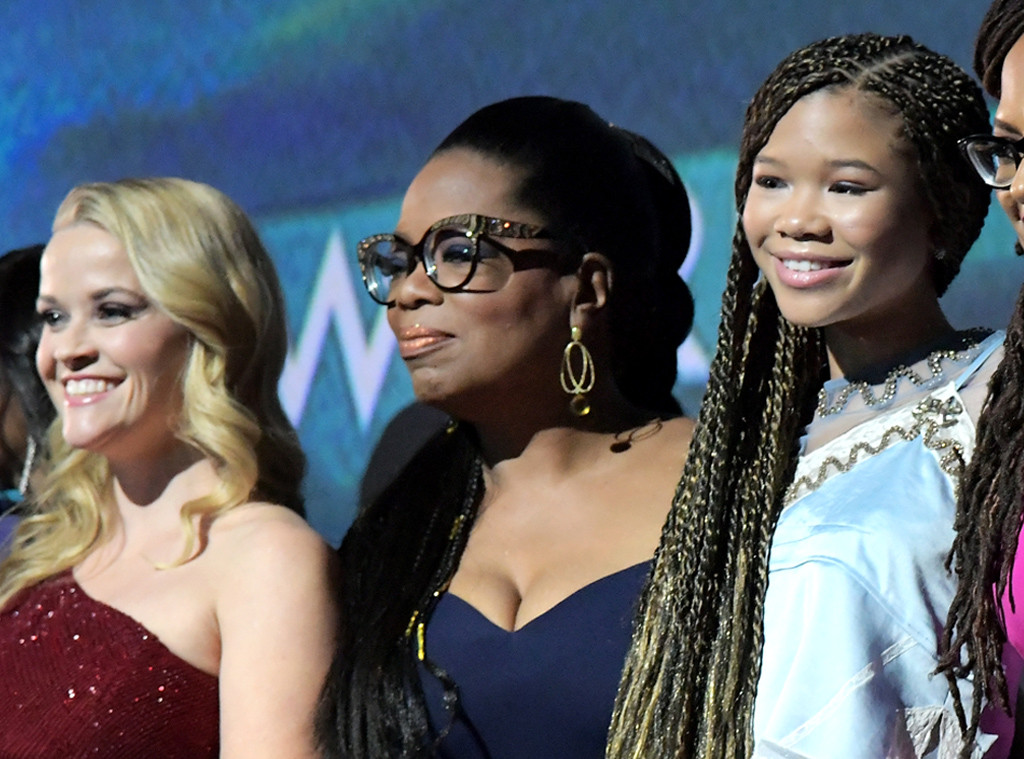 Reese Witherspoon, Oprah Winfrey, Storm Reid