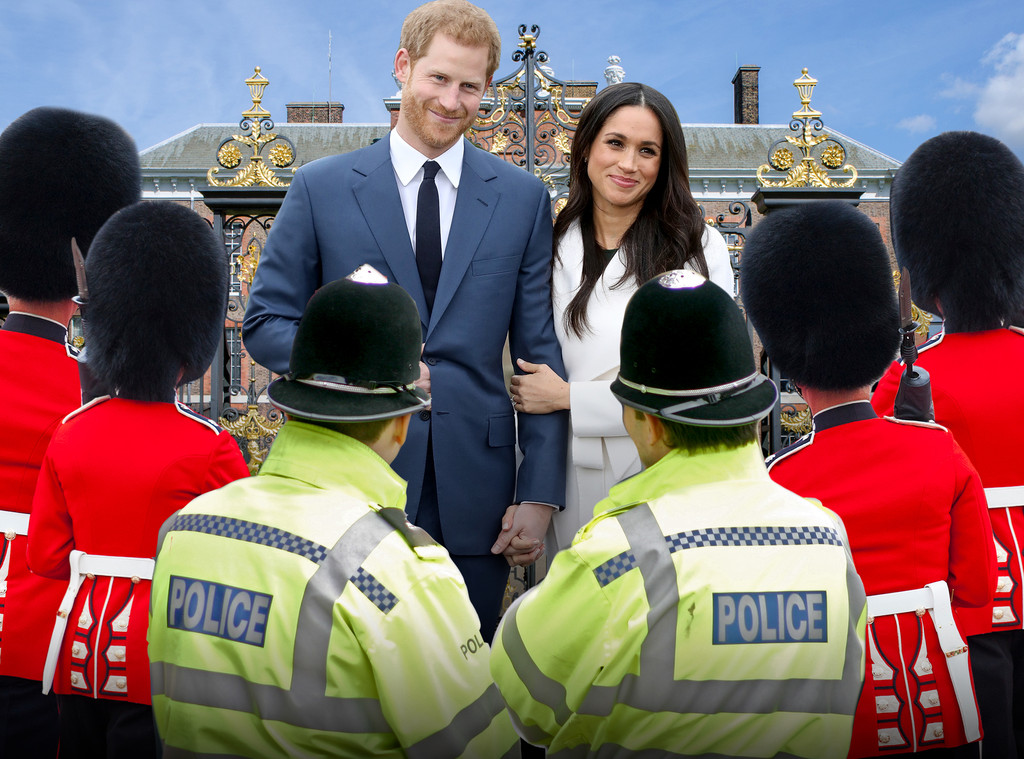 Meghan Markle, Prince Harry, Security