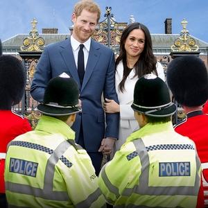 Meghan Markle, Prince Harry, Security