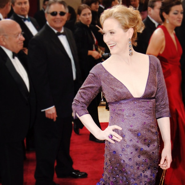 Meryl Streep looks like Fairy Godmother from Shrek at Oscars
