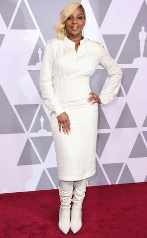 Mary J. Blige, Oscar Nominees Luncheon