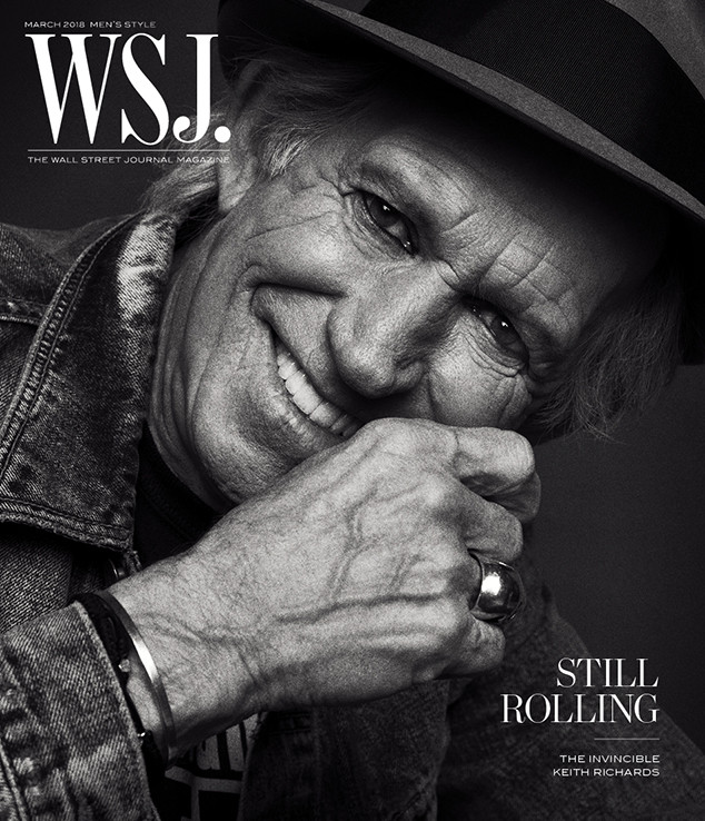 Keith Richards, WSJ. Magazine