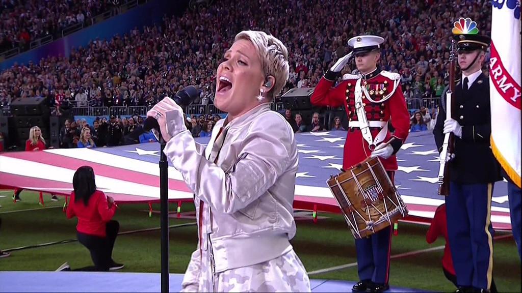 No players knelt during national anthem at Super Bowl