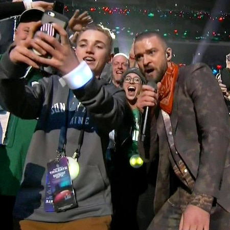 rs 600x600 180204200543 600.justin timberlake super bowl kid.ct.020418 - Justin Timberlake's 2018 Super Bowl Halftime Show Turns This 13- Year-Old Kid Into a Star