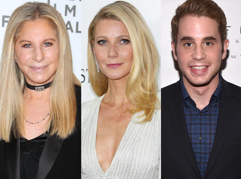 Barbra Streisand, Gwyneth Paltrow, Ben Platt