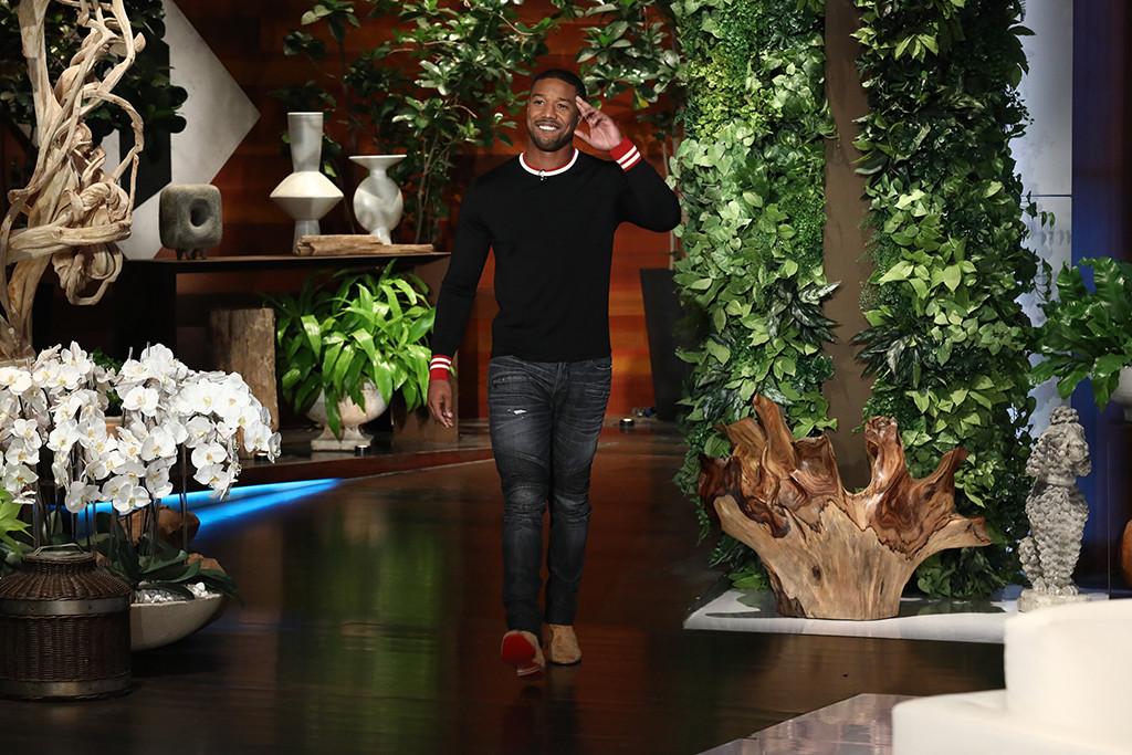 Michael B. Jordan, The Ellen DeGeneres Show
