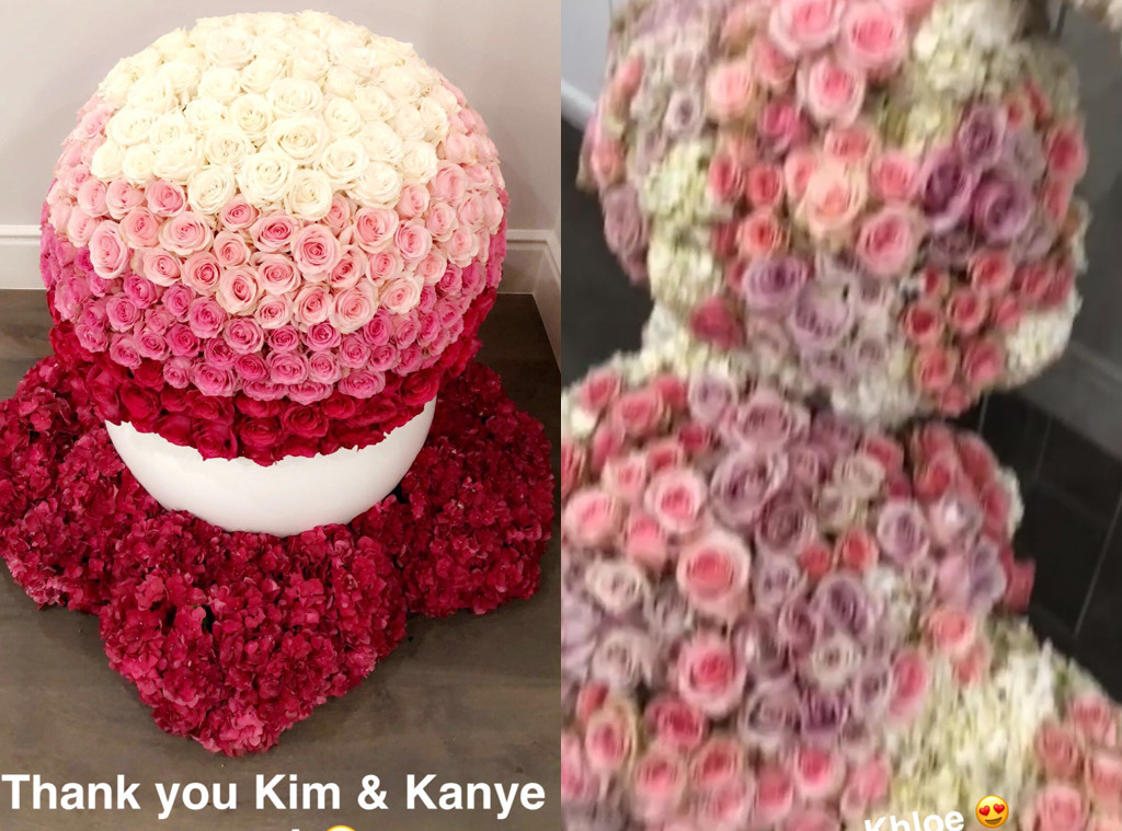 Kylie Jenner, Flowers