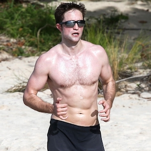 Robert Pattinson, Shirtless