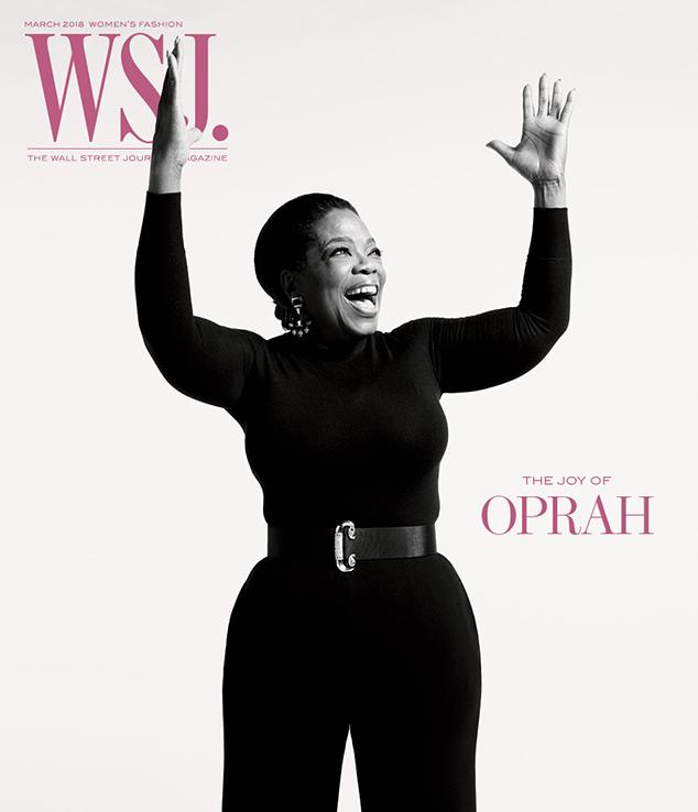 Oprah, WSJ Magazine