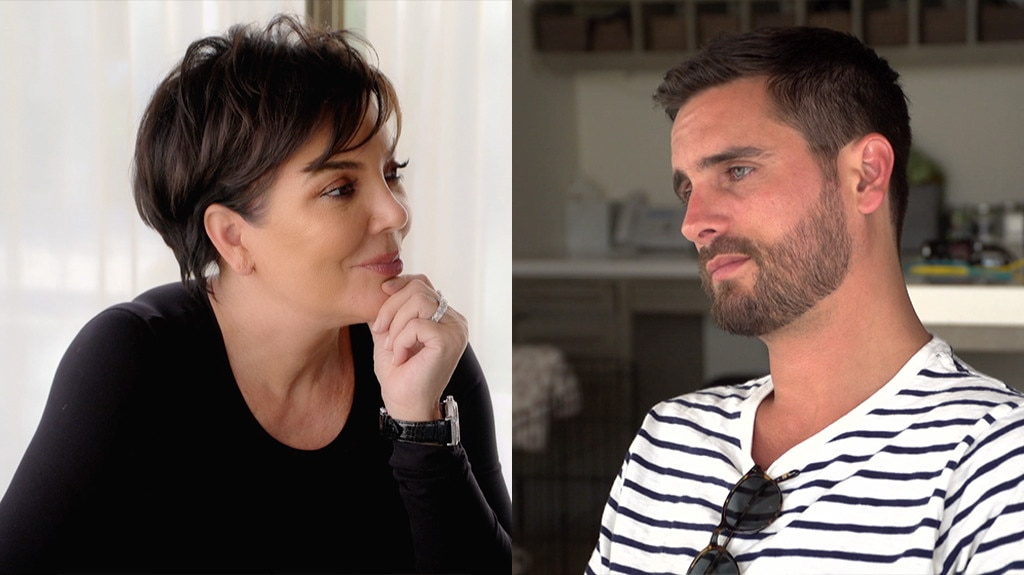 Kris Jenner Grills Scott Disick About Dating Sofia Richie in 'KUWTK' Promo
