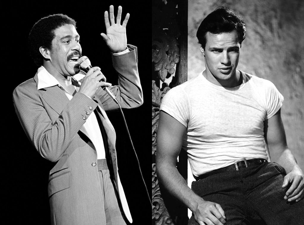 Richard Pryor, Marlon Brando